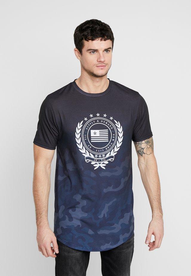 FUSE - Print T-shirt - black