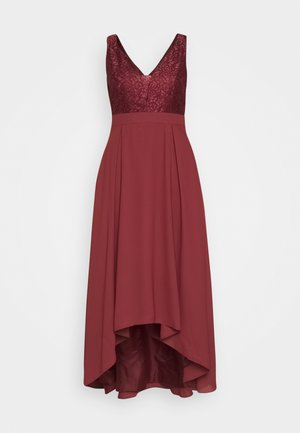 Vestido de fiesta - earth red