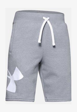LOGO - Sports shorts - mod gray light heather