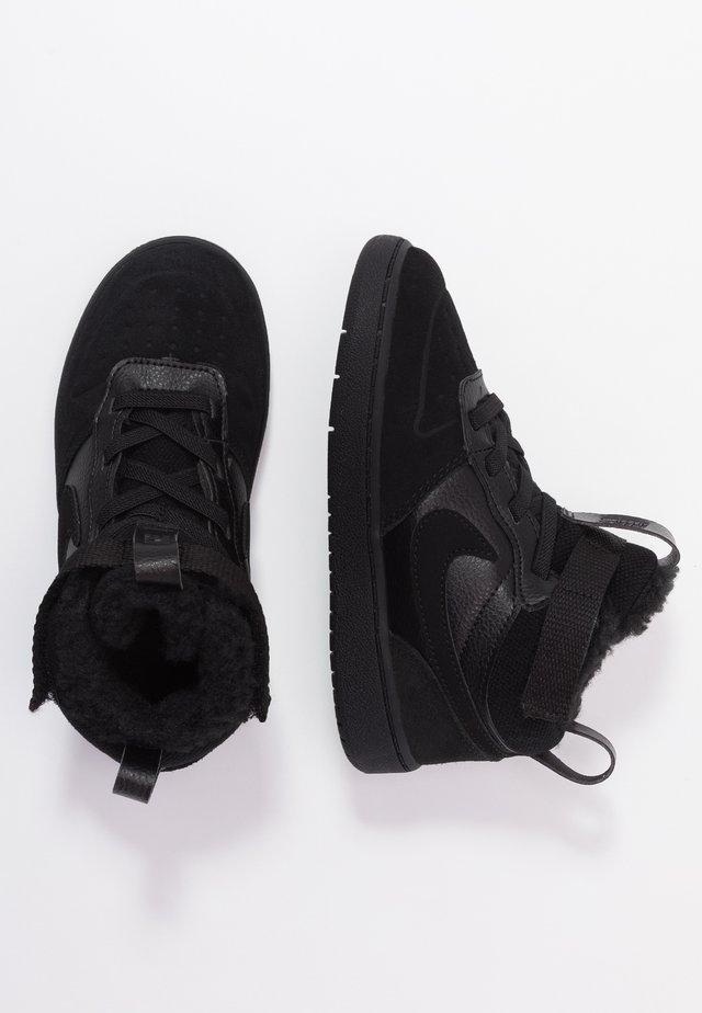 COURT BOROUGH MID WINTERIZED  - Baby shoes - black/white
