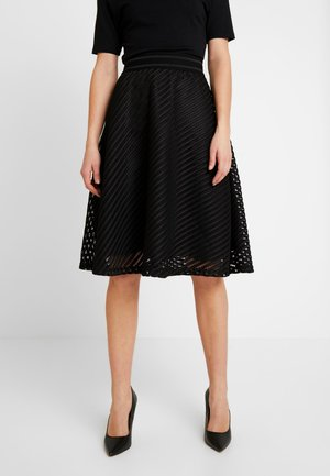 JDYOGGI WIDE SKIRT - A-line skirt - black