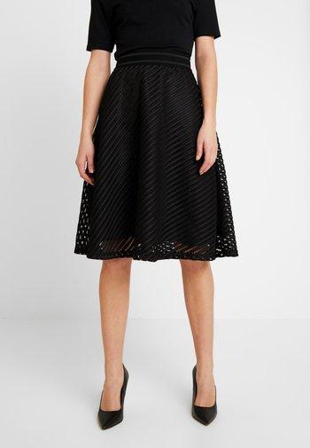 JDYOGGI WIDE SKIRT - A-line skirt - black