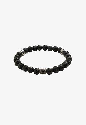 STONES - Bracelet - schwarz