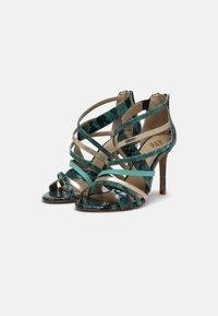 San Marina - NITORA MUSA - High heeled sandals - lagon - 3