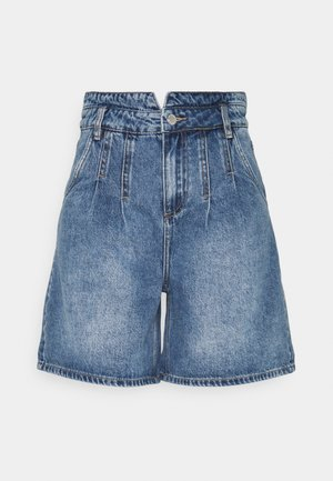 BYKATO BYKOLBY - Denim shorts - ligth blue denim