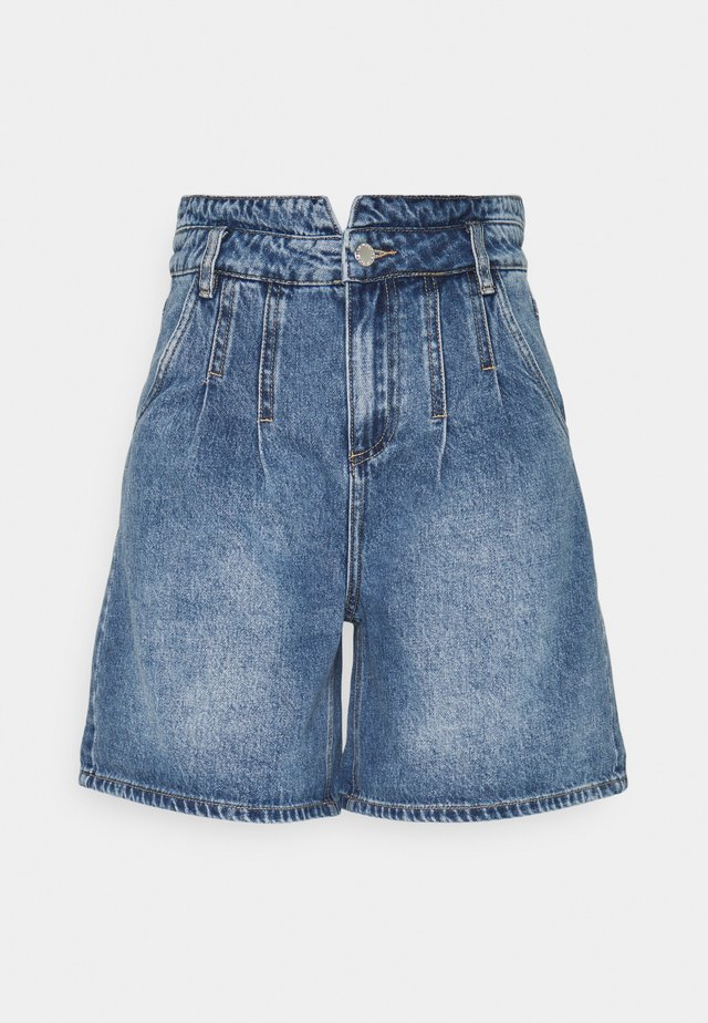 BYKATO BYKOLBY - Denim shorts - ligth blue denim