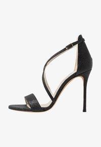 Pura Lopez - Sandalen met hoge hak - glitter black - 1