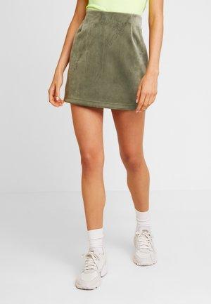 KATHY SKIRT - Minisukně - khaki green