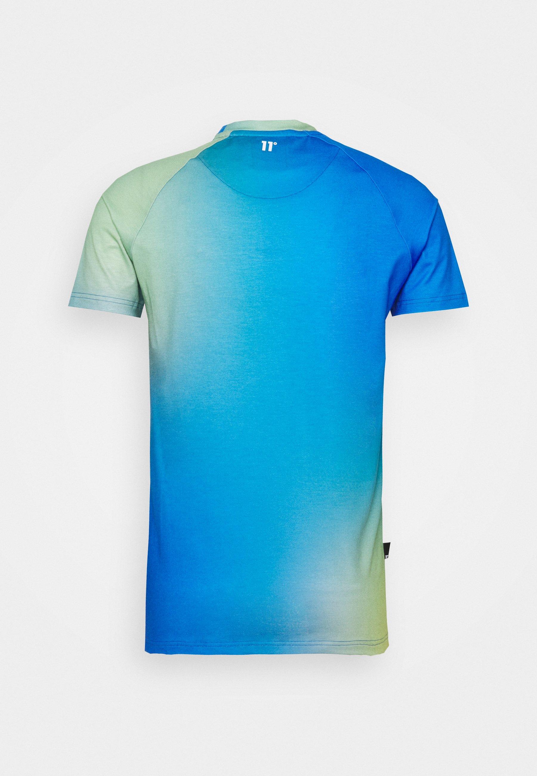 Men SUN BURST MUSCLE FIT - Print T-shirt