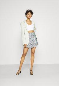 Gina Tricot - JANE SKIRT - Mini skirt - multi-coloured - 1
