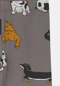 Lindex - AUTHENTIC DOG UNISEX - Leggings - Trousers - grey - 2
