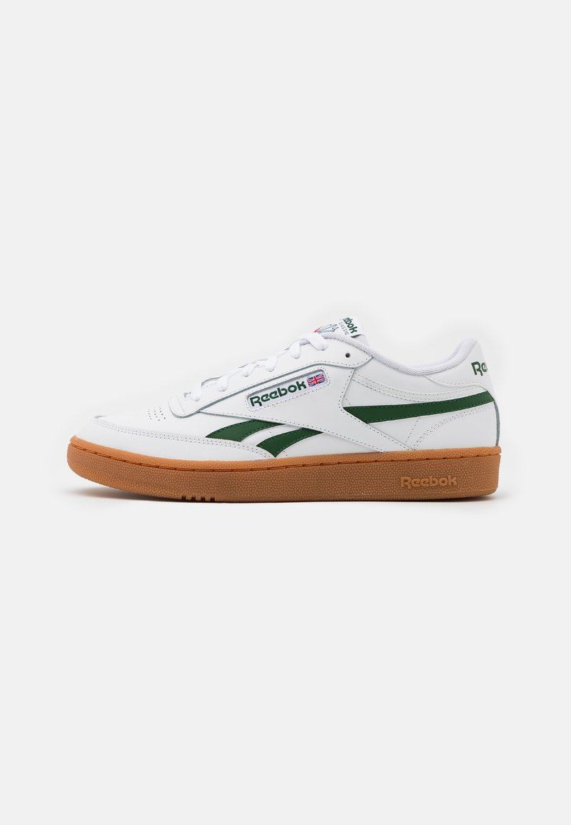 Reebok Classic - CLUB C REVENGE - Baskets basses - white/utility green
