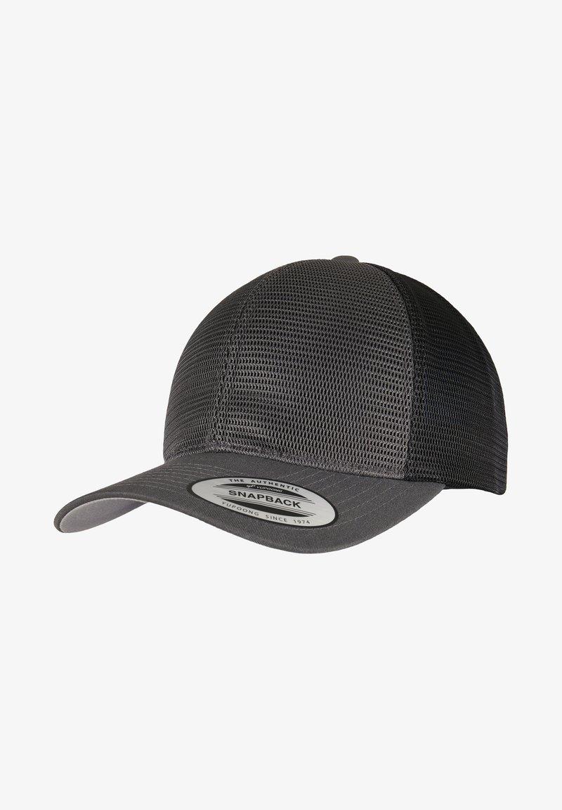 Flexfit - OMNIMESH TONE - Cap - charcoal/black