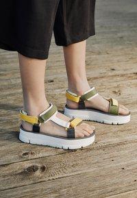 Camper - ORUGA UP - Platform sandals - yellow - 4