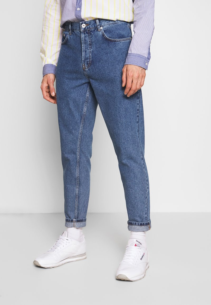 Solid - DAD FIT - Jeans Tapered Fit - blue