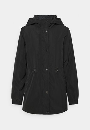 JDYYO REACH LONG HOOD - Parka - black