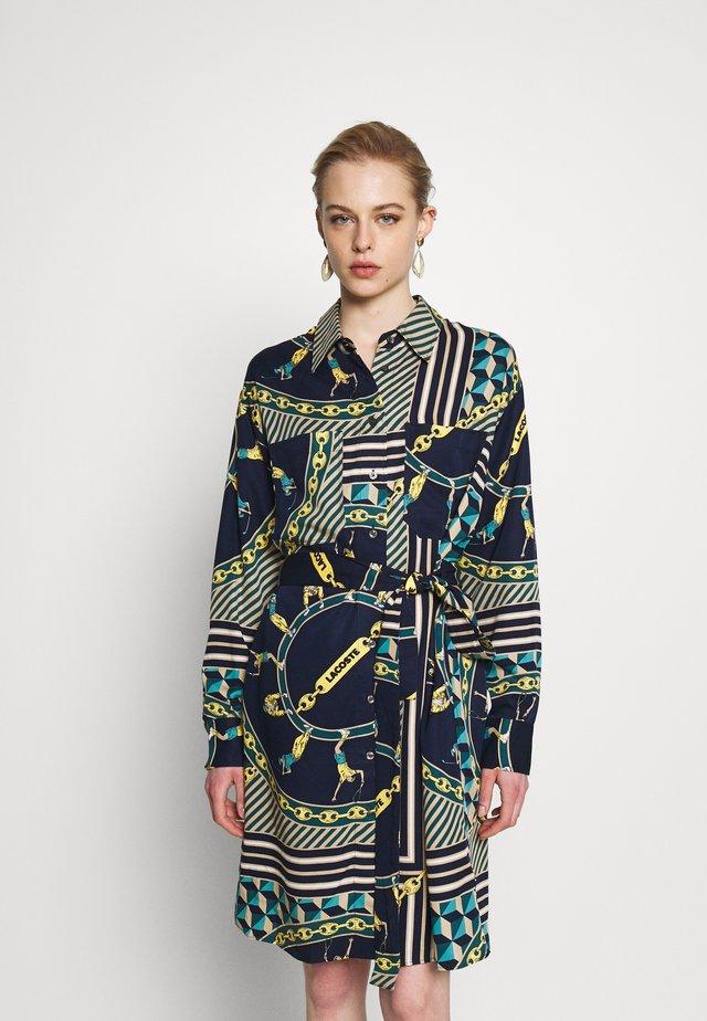 Sukienka koszulowa - navy blue/multico