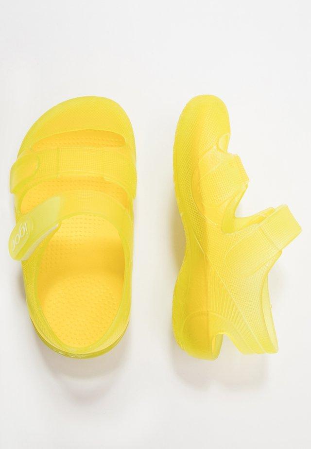 BONDI - Chanclas de baño - amarillo