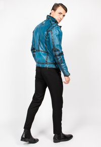 Freaky Nation - BENBLUE-FN - Leather jacket - multiple blue - 3