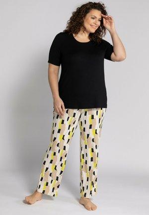GRANDES TAILLES 2 PIECE SET - Pyjama - noir