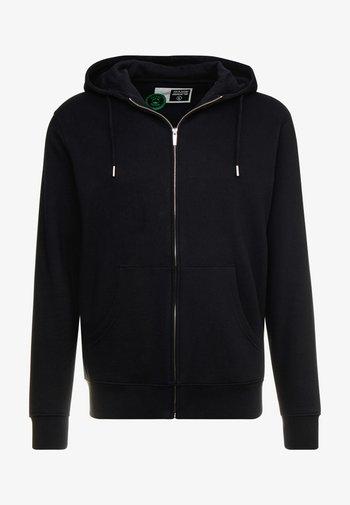 MORGAN - Zip-up hoodie - black