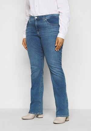 315 SHAPING BOOT - Jeans bootcut - london pride plus