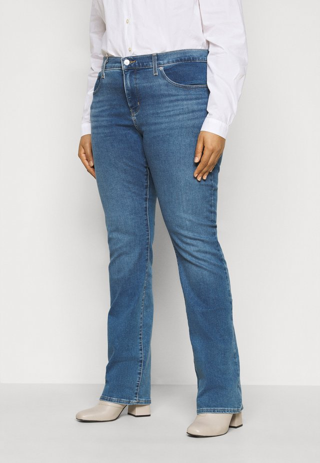 315 SHAPING BOOT - Jean bootcut - london pride plus