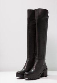 Felmini - COSMOS - Overknee laarzen - wonderfull black - 3