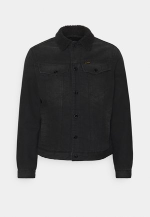 3301 SLIM - Veste en jean - relz black denim o - jet black
