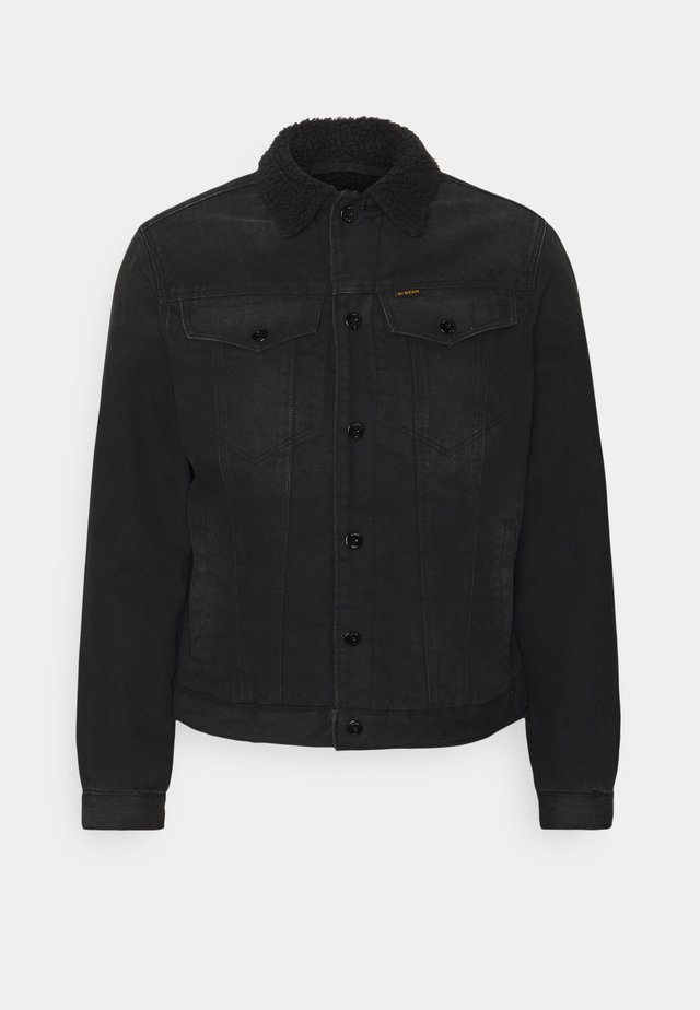 3301 SLIM - Denim jacket - relz black denim o - jet black