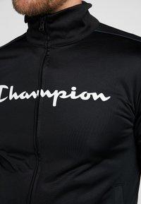 Champion - TRACKSUIT - Tepláková souprava - black - 8