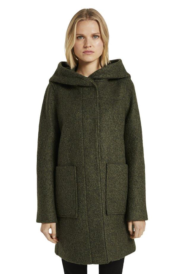 Classic coat - olive green melange