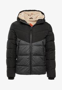 TOM TAILOR DENIM - HEAVY PUFFER JACKET - Winter jacket - grey - 4