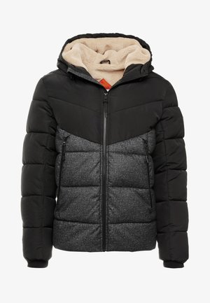 HEAVY PUFFER JACKET - Winter jacket - grey