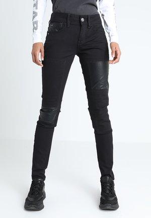 LYNN MID SKINNY RESTORED  - Jeans Skinny Fit - ita black superstretch