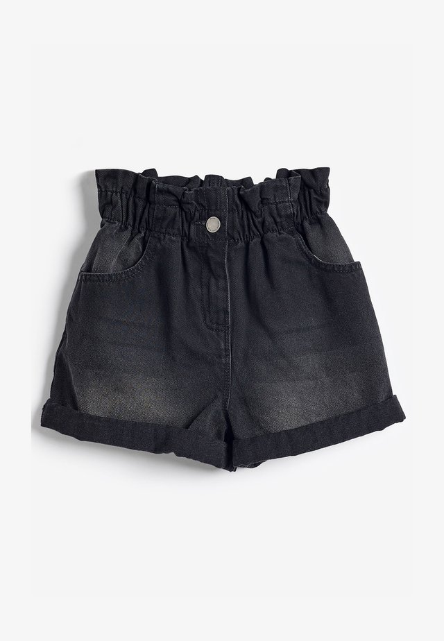 PAPERBAG - Shorts di jeans - grey denim