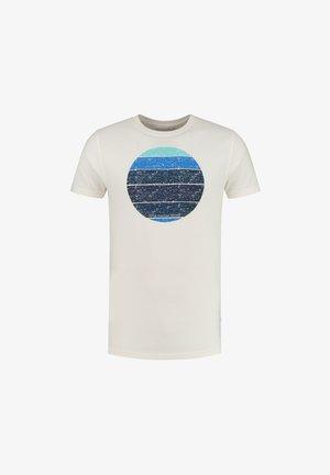SUNSET SHADES - T-shirt med print - white antique