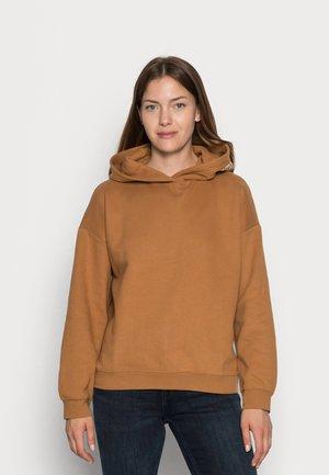 Bluza z kapturem - soft camel