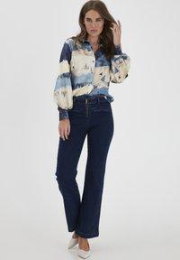 Dranella - DRLARRIET 3 TALIA  - Slim fit jeans - mid neptune blue - 1