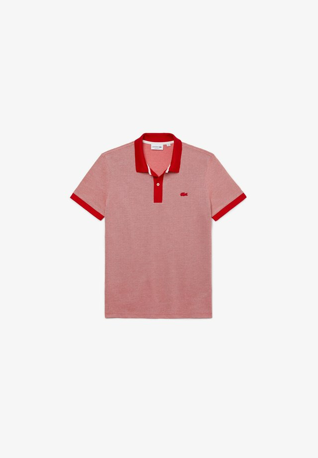 Polo - rot/rosa/weiß
