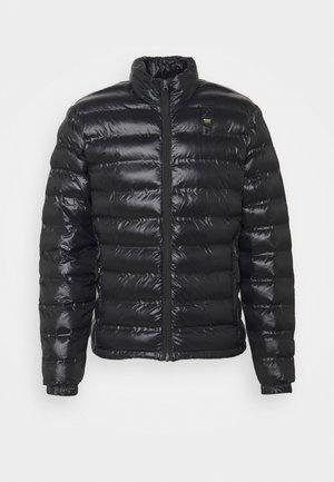 REPREVE STAND UP COLLAR - Light jacket - black