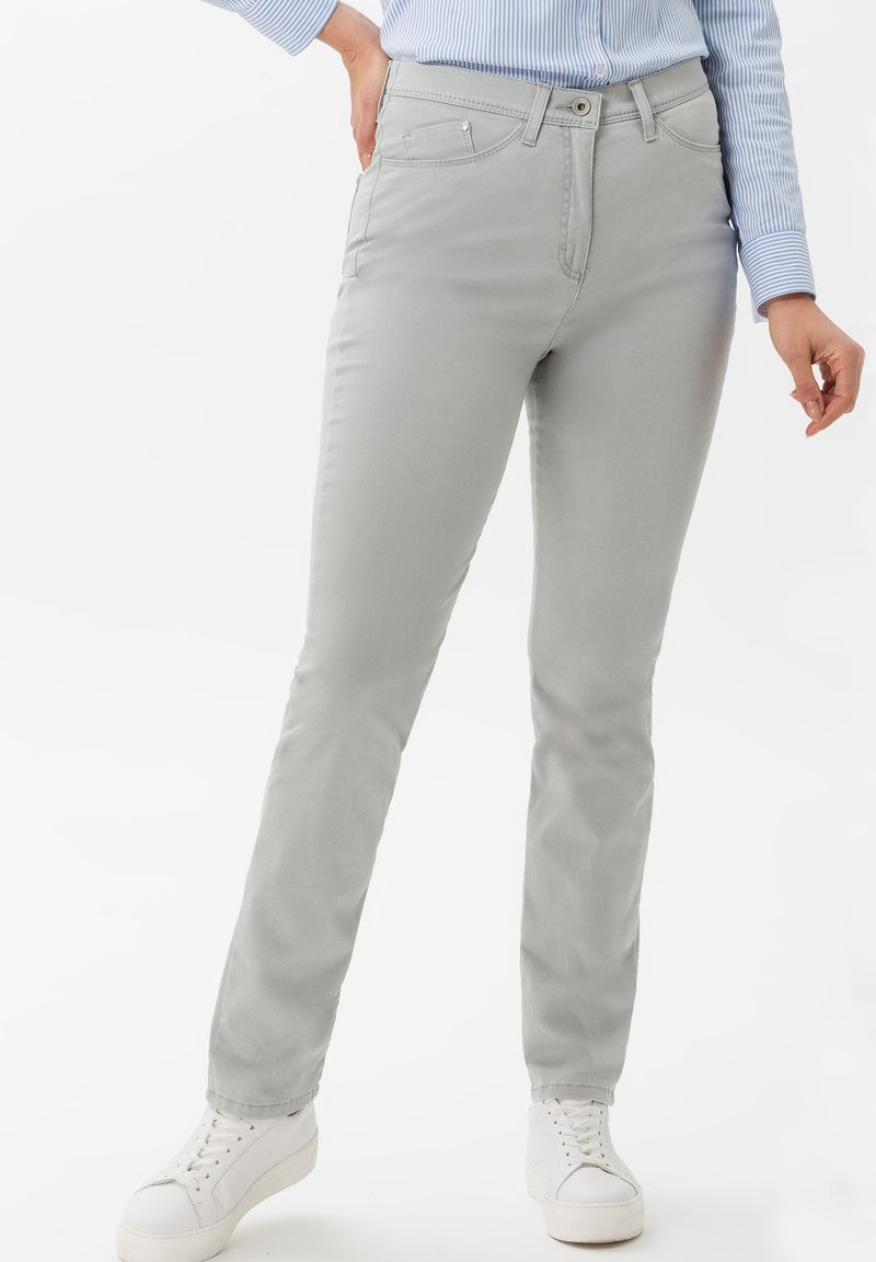 BRAX - STYLE LAURA TOUCH - Pantalon classique - smoke
