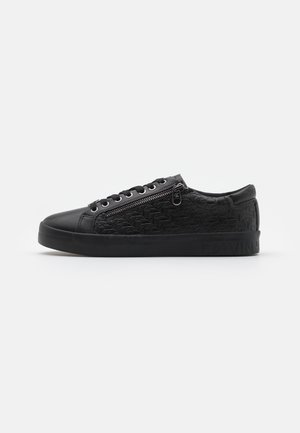 LACEUP ZIP - Sneakers laag - full black