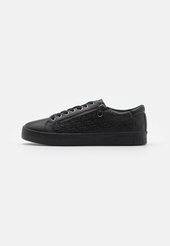 LACEUP ZIP - Trainers - full black
