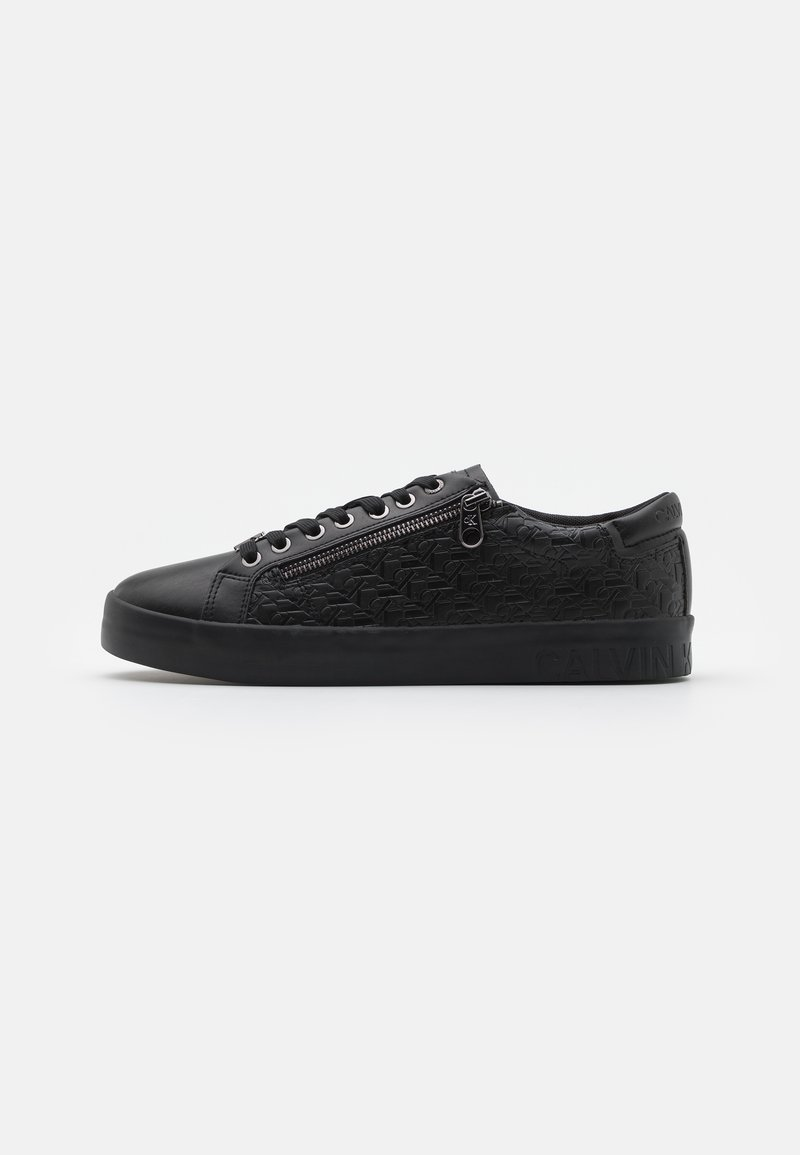 Calvin Klein Jeans - LACEUP ZIP - Trainers - full black