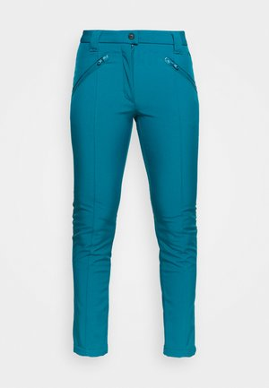 WOMAN LONG PANT - Ulkohousut - deep lake