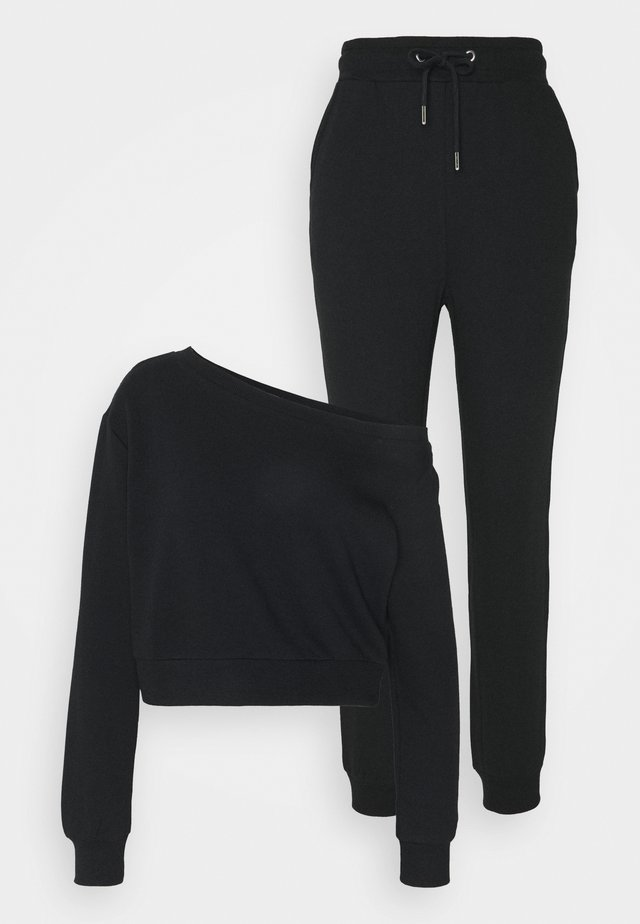 SET - Sweater - black