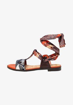 Sandalen met enkelbandjes - blue