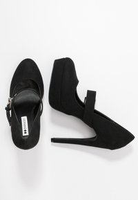 Even&Odd - Klassiska pumps - black - 3