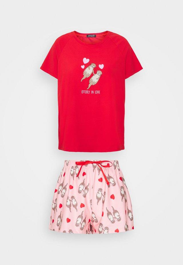 HEART - Pyjamas - red